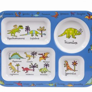 Dinosaur Compartment Tray