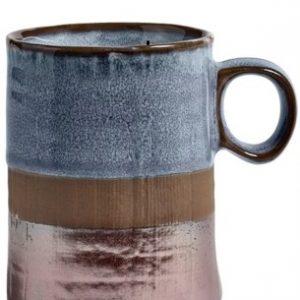 Nostalgic Blue Large Mug