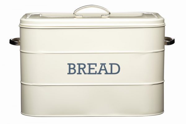Antique Cream Bread Bin