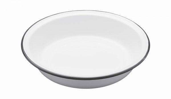 Enamel Round 22cm Pie Dish