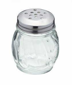 Large Hole Glass Shaker