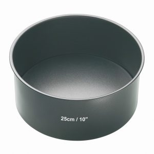 Non-Stick 25cm Loose Base Deep Cake Pan