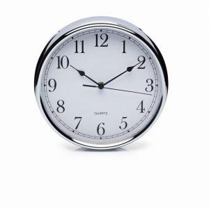 Stainless Steel 25cm Clock