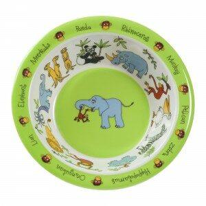jungle melamine bowl