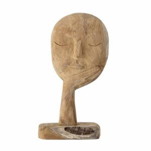 Wooden Sculpted Head